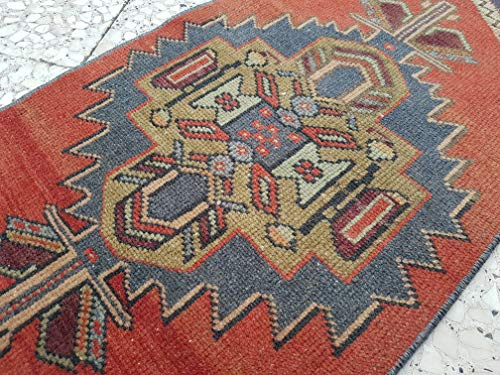 Small Rug For Entryway Welcome Mat Vintage Turkish