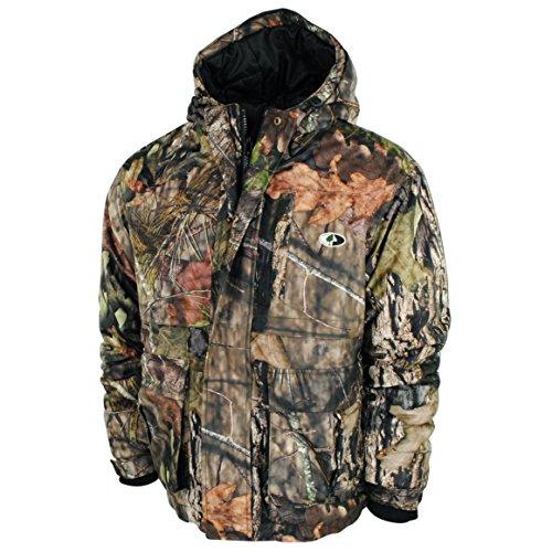 Mossy Oak Men's WPB Insulated Jacket (Hood Full Oak)
