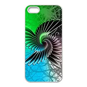 Creative Cool Wings Pattern Custom Protective Hard Phone Cae For Iphone 5s