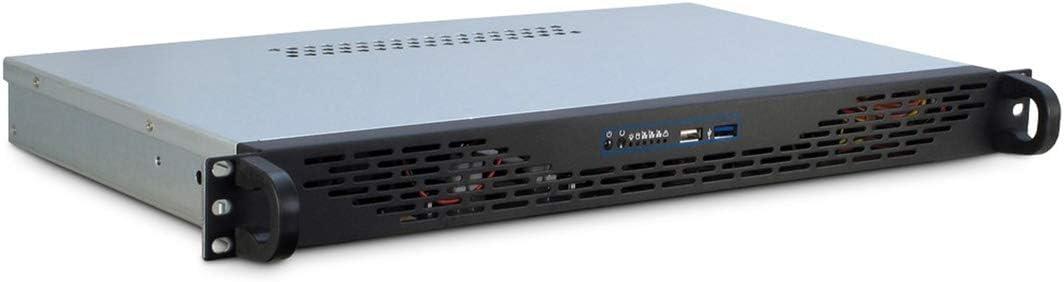 Inter-Tech 1U K-125L Mini ITX Gris - Caja de Ordenador (Mini ITX ...