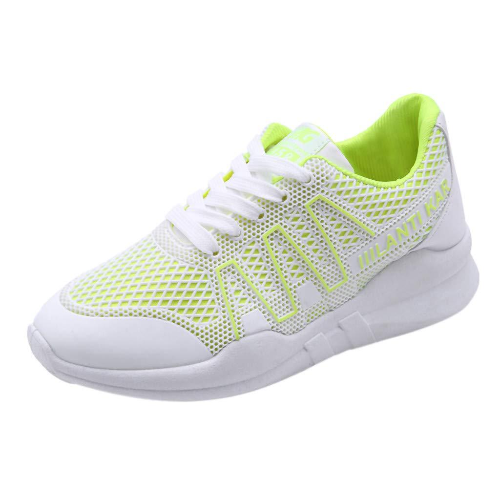 715005deaf577 Amazon.com: Women Flat Bottom Mesh Shoes Cross-Strap Sport Shoes ...