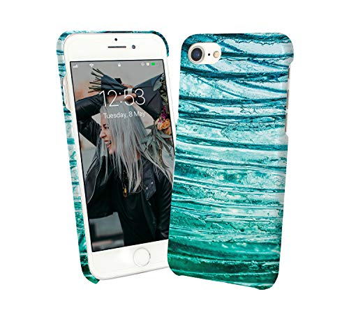 Christmas Frozen Water Frost Effect Pattern_007729 Phone Case Cover Hard PC Cover for Protection Compatible with for Huawei P9 Funny Gift ()