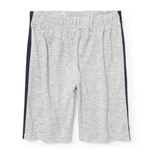 Boys Short Pj (The Children's Place Big Boys' Lounge Shorts, Heather/T Mist, M (7/8))
