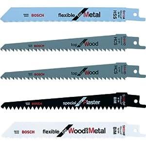 Bosch - Pack de 5 cuchillas para KEO