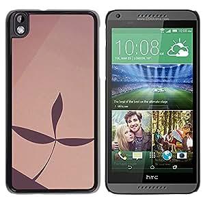 "For HTC DESIRE 816 , S-type Simple patrón de 22"" - Arte & diseño plástico duro Fundas Cover Cubre Hard Case Cover"