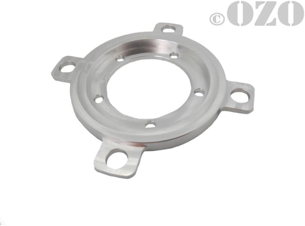 OZO Adaptateur pour plateau 4 trous VTT pour moteur p/édalier Bafang BBS01 et BBS02