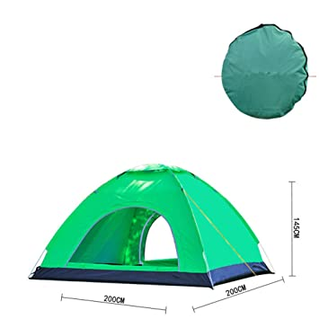 Outdoor Pop Up Tent 3-4 Man 2 Seconds Speed Automatic Open Tent Sun Shelter  sc 1 st  Amazon.com & Amazon.com : Outdoor Pop Up Tent 3-4 Man 2 Seconds Speed Automatic ...