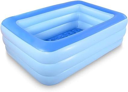 Amazon.com: HIWENA - Piscina inflable para natación, 83.0 in ...