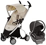 Quinny Zapp Xtra Mico AP Travel System, Natural Mavis - Devoted Black