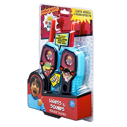 Ryans World FRS Walkie Talkies for Kids with Lights and Sounds Kid Friendly Easy to Use by eKids (Image #7)