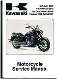 99924-1387-02 2008-2009 Kawasaki VN2000G H J Vulcan 2000 Classic Classic LT Service Manual