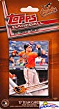 Baltimore Orioles 2017 Topps Baseball EXCLUSIVE Special Limited Edition 17 Card Complete Team Set with Manny Machado, Chris Davis, Adam Jones & More Stars & Rookies! Shipped in Bubble Mailer! WOWZZER!