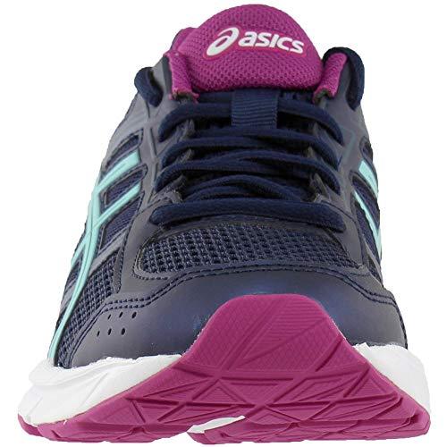 Chaussure De 4 Peacoat contend Course Large Gel Asics Synthétique qT4fOPc