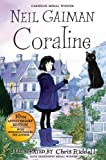 Front cover for the book Coraline by Neil Gaiman