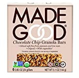 Made Good Granola Bar Chocolate Chip, 24 gram, 6 Count (Pack of 6)