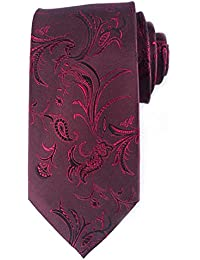 Classic Men's Tie silk Necktie Woven JACQUARD Neck Ties gift box