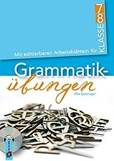Grammatikübungen: mit editierbaren Arbeitsblättern für Klasse 5/6 ...