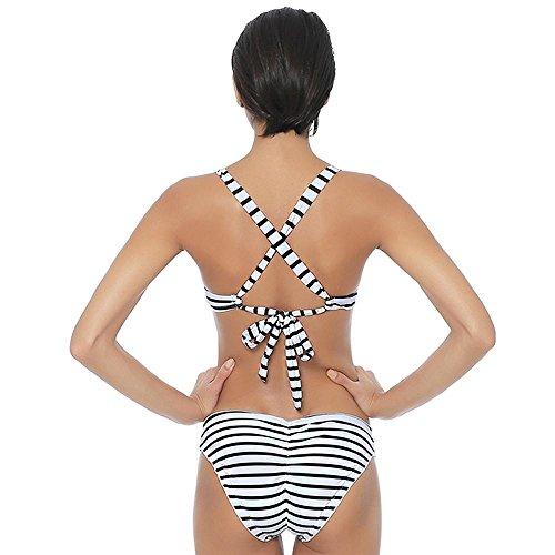 TOYUN Bikini Traje Traje De BañO Nuevo Cruz Correa De Hombro