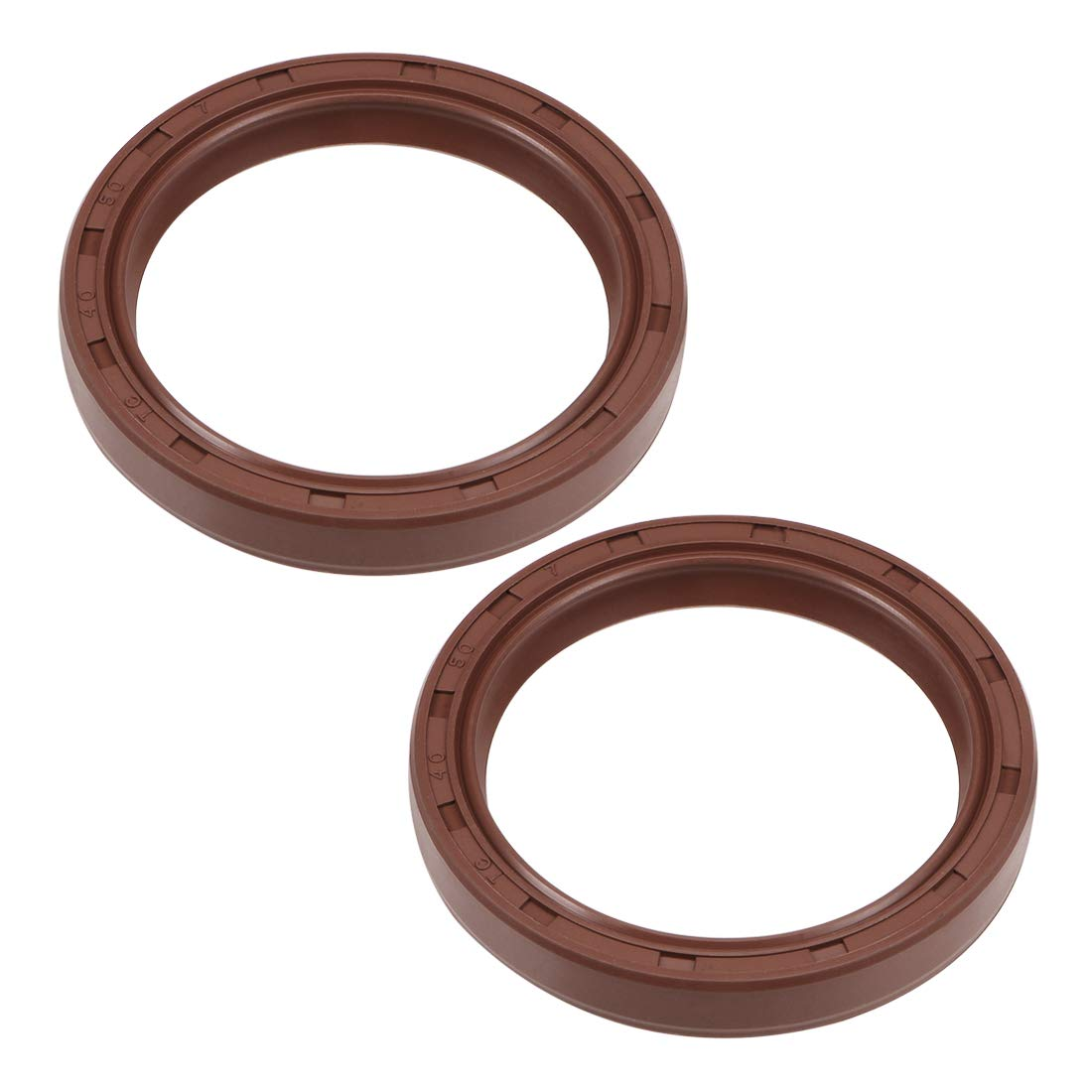 28 mm oil seal Internal diameter 45 mm OD 10 mm Thick fluorine rubber double lip seals 2 pieces