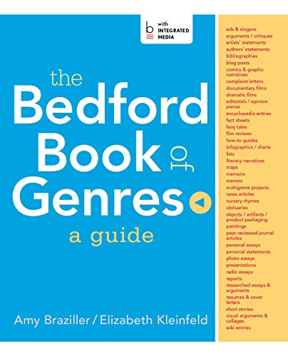 The Bedford Book of Genres Pdf