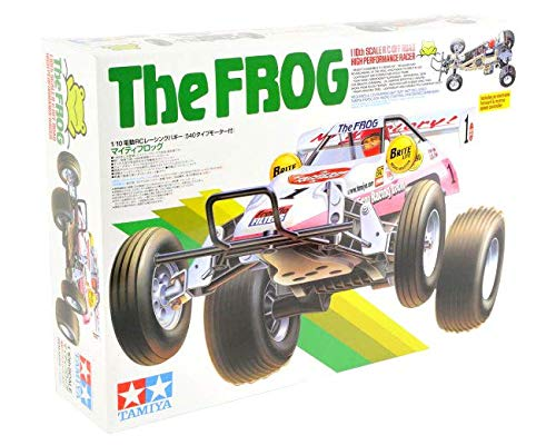 Tamiya 58534 RC The Frog 1/10 Scale Off Road High Performance Racer RC Car Model Kit ()