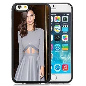 New Custom Designed Cover Case For iPhone 6 4.7 Inch TPU With Emily Ratajkowski Girl Mobile Wallpaper(111).jpg