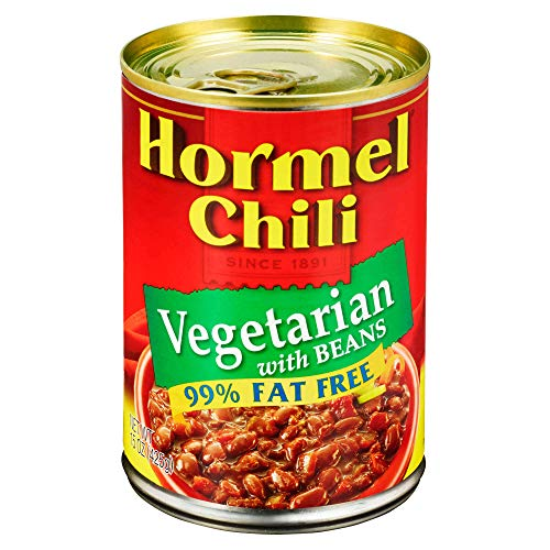 Hormel Chili Vegetarian with Beans, 15 Ounce ()