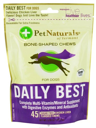 Pet Natural's of Vermont Daily Best Dogs Softchew - 45 Ea, 9 pack
