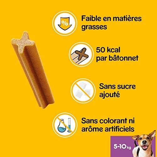 Pedigree Dentastix - Friandises pour petit chien, 70 bâtonnets à mâcher pour l'hygiène bucco-dentaire (10 sachets de 7 Sticks)