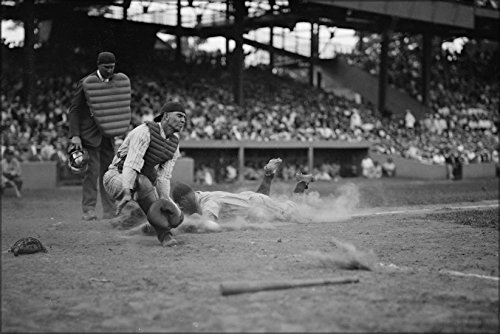 24x36 Poster; Yankees Lou Gehrig Scores Head First In 4Th In