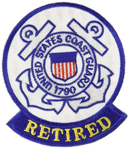 EagleEmblems PM0962 Patch-USCG Logo,Retired (3-9/16'')