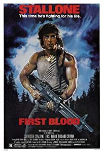 Rambo: First Blood 27 x 40 Movie Poster - Style A