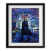 Uhomate Severus Snape Harry Potter Always Vincent Van Gogh Starry Night Posters Home Canvas Wall Art Anniversary Gifts Baby Gift Nursery Decor Living Room Wall Decor A028 (11X14)
