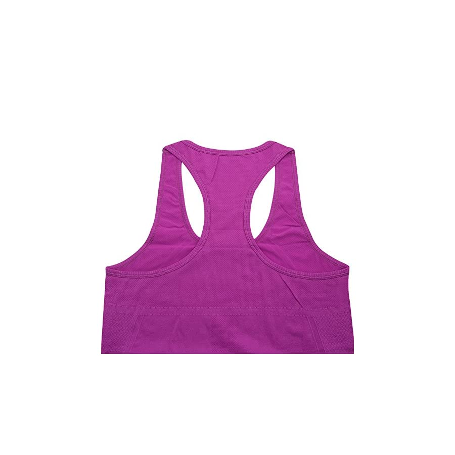 BollyQueena Racerback Tank Top, Women's Workout Tanks Tops 1,2,4 Packs S XL