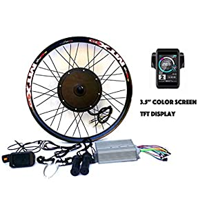 "51amyVj4RvL. SS300 theebikemotor 3.2"" TFT Display+3000W Hi Speed Electric MTB Bicycle E Bike Kit Conversione Bici Elettrica"