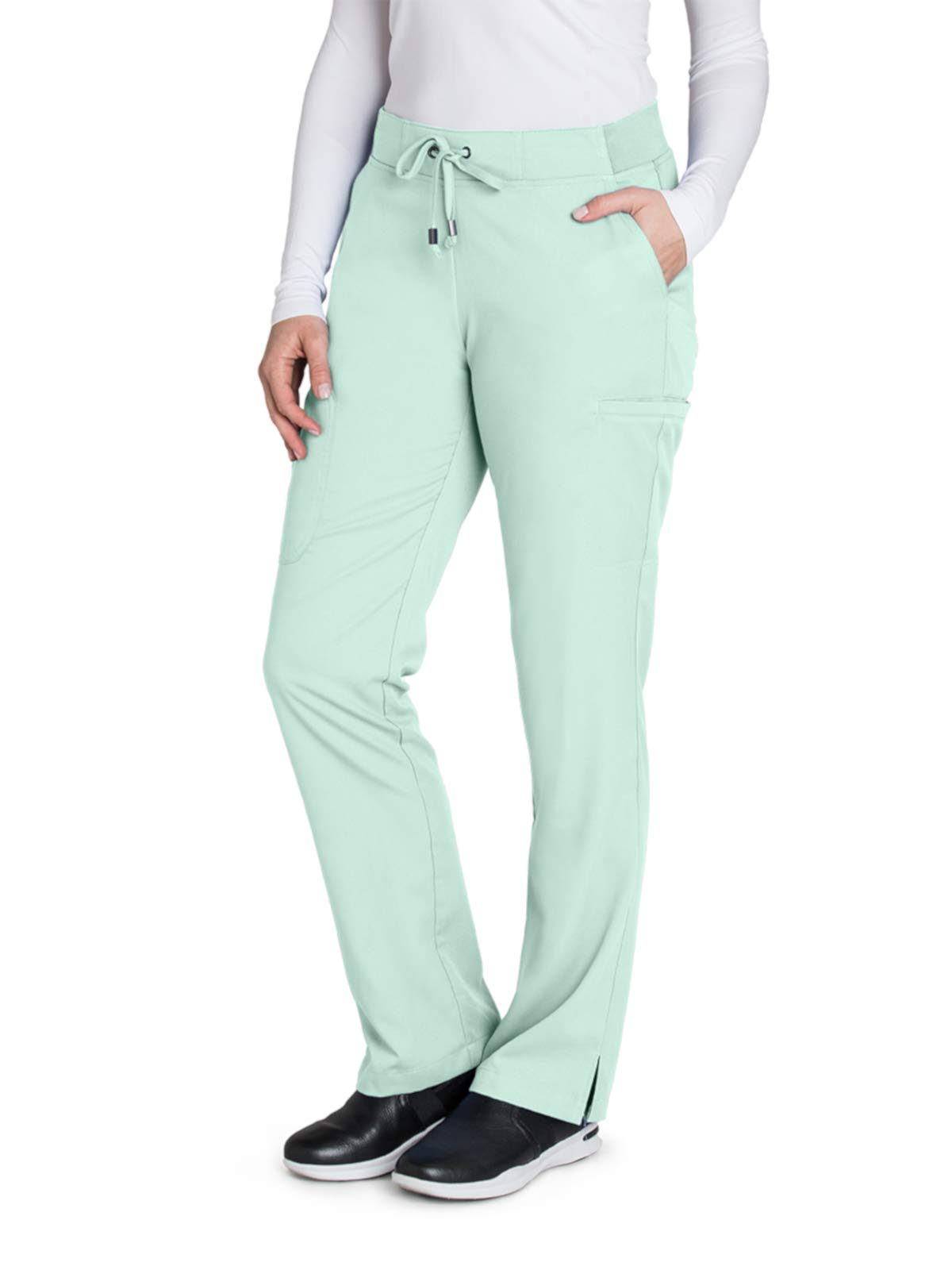 Grey's Anatomy 4277 Straight Leg Pant Aqua Mist XL