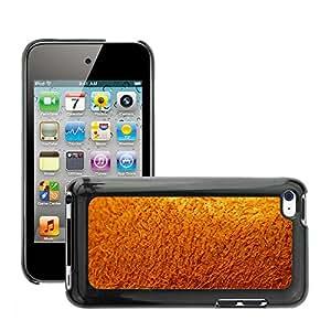Etui Housse Coque de Protection Cover Rigide pour // M00151736 Kiwi Shell Cerrar Piel Borstig Furry // Apple ipod Touch 4 4G 4th