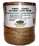 Librett Biodegradable Natural Jute Twine, 890 FT - 32oz - 3 Ply