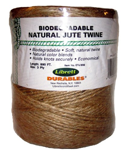 Librett Biodegradable Natural Jute Twine product image