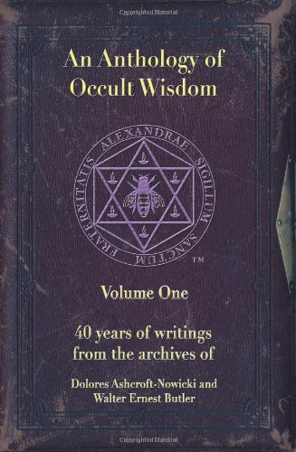 Download An Anthology of Occult Wisdom ebook