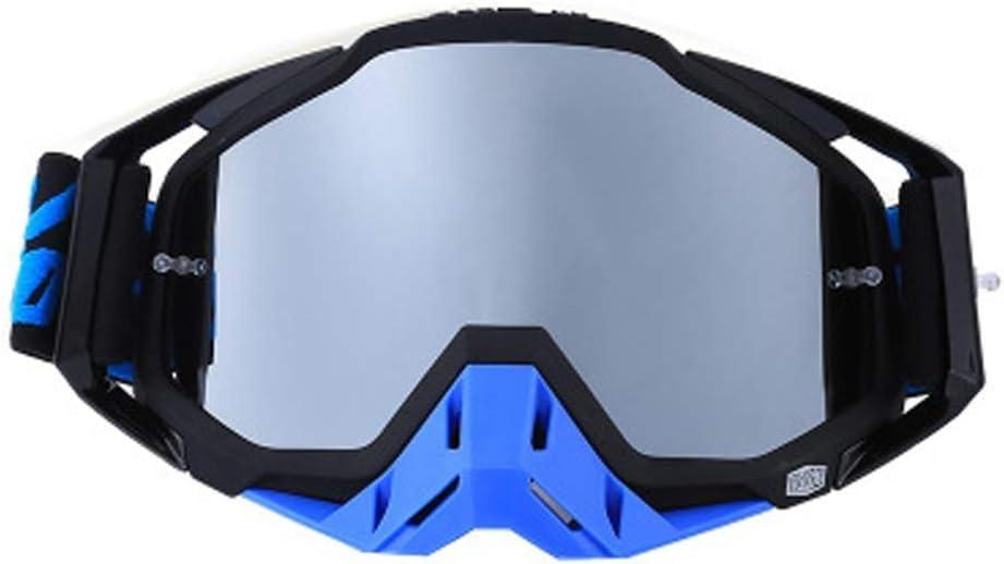 MUBAY Gafas de esquí, Gafas de protección Montar a Caballo Campo a través del Casco de los anteojos de vidrios táctico a Prueba de Polvo del Combate Militar de niños, niñas, jóvenes, Hombres, Mujeres