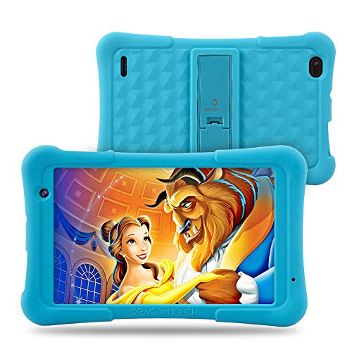 Dragon Touch Y80 Kids Tablet, 8 inch Android Tablet, 16 GB, Kidoz Pre-Installed Disney Content – Blue