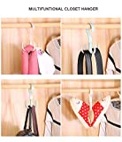 Thinkmay Rotating Scarf Purse Organizer for