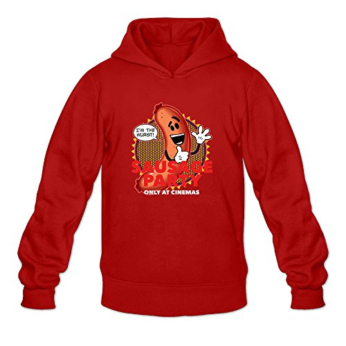 Sausage Party Men's Long Sleeve T Shirt Red US Size M
