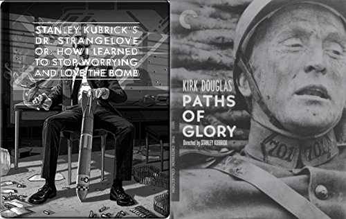 Kubrick Dr. Strangelove Steelbook + Criterion Paths of Glory Blu Ray Collection