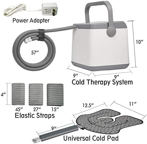 NEHOO Cold Therapy System, Ice Therapy Machine, Continuous cryotherapy Cold Pack, Universal Pad for Knee, Ankle, Cervical, Back, Leg and Hip