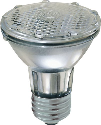 GE Lighting 69148 Energy-Efficient Halogen 38-watt 530-Lumen PAR20 Floodlight Bulb with Medium Base, ()