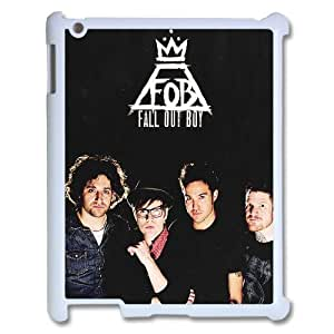 YUAHS(TM) Personalized 3D Hard Back Phone Case for Ipad 2,3,4 with Fall Out Boy YAS882945