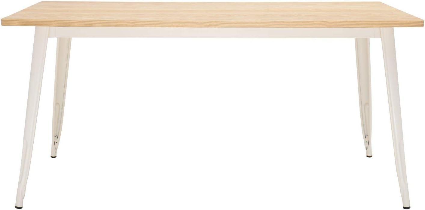 SKLUM Tavolo LIX Legno Opaco Beige Crema - 120x60 Scegli Un Colore