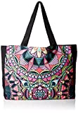 PilyQ Women's Tote Bag, Mandala, One Size